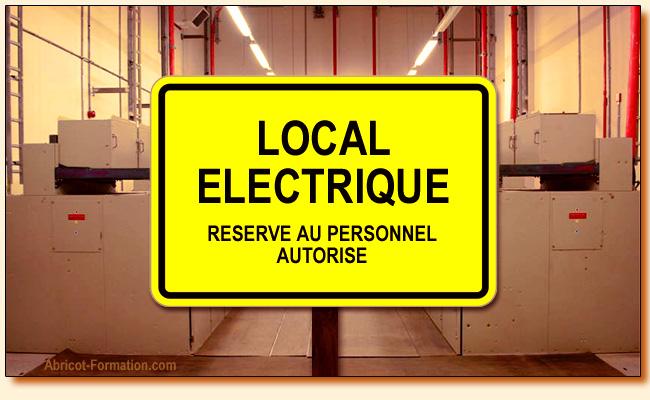 Habilitation electrique b0 h0 h0v formation for Local electrique